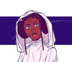 Space Princess, Princess Leia, Star Wars Art, Star Trek, Character Art, Character Design, Princess Drawings, Star Wars Humor, Love Stars