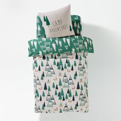 Camp Adventures, Children's Duvet Cover La Redoute Interieurs | La Redoute Mobile
