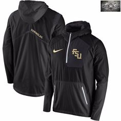 Ole Miss Rebels Nike Sideline Vapor Fly Rush Half-Zip Pullover Jacket - Navy e09d98523