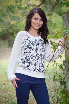 Oakleigh Rose - Classy Crochet Sweater - Cream, $38.00 (http://www.oakleighrosestyle.com/classy-crochet-sweater-cream/)