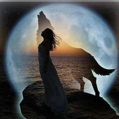Wolf Spirit--Running with the Wolves.