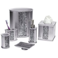 Popular Bath Sinatra 6 Piece Bathroom Accessory Set