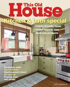 TOH compiled more of master carpenter Norm Abram's best how-to tips for stress-free projects Kitchen Paint Colors, Painting Kitchen Cabinets, Old Kitchen, Kitchen And Bath, Kitchen Time, Kitchen Decor, New Yankee, House And Home Magazine, Home Renovation
