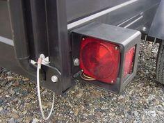 utility trailer light protectors