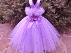Tutu Dress PRETTY PANSY Bit of Fluff Stretch Bodice by ElsaSieron, $74.00