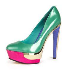 Fashion B Brian Atwood Fleonida Jade Pump - goalsBox™