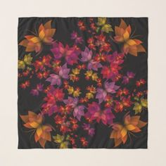 Digital Butterflies Scarf - #customizable create your own personalize diy