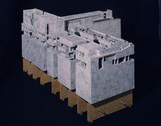Morphosis, Cedars-Sinai Cancer Center, architectural model