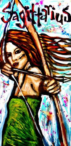 Sagittarius Painting - Sagittarius by Kimberly Dawn Clayton