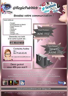 RÉGIE PUBLICITAIRE WEB est une Agence de communication française basée à Amiens, dans le département de la Somme, dans la région de Picardie en France. Cette Agence de communication appartient à : Mmz Audrey AKPAMA, sa Gérante JET7 CLUB PARIS FRANCE,...