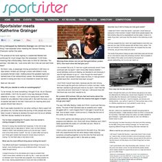 Sportsister Interview with Katherine Grainger