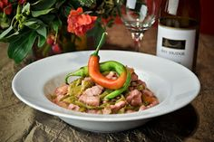 Named after a train, the bicol express is a mix of pork meat and shrimp sautéed in onions and tomatoes with lots of green chili strips simmered in coconut milk. Almost each Bicolano household have their own version of the bicol express which is favored not only during normal meal time, but most especially during special occasions as well.