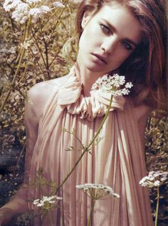 Natalia Vodianova for Harper's Bazaar UK September 2009 | Photography: Paola Kudacki, styling: Alison Edmond