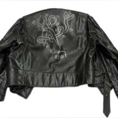 PAPERMAG: For Sale: Keith Haring-Illustrated Leather Jacket