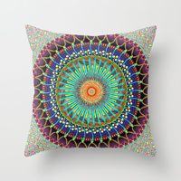 Throw Pillows by Padma D.H. | Society6