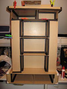 Tim Holtz Carousel storage tower - tutorial