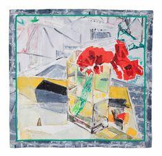 Esarfe de matase pictate: mici comori pentru iubitoarele artei