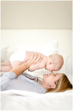 Cute baby and mother #baby #mom #love