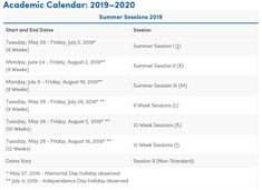 271 Best Academic Calendar images in 2019