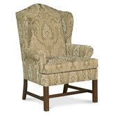 Found it at Wayfair - Chippendale Wingback Chair