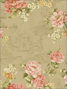 wallpaperstogo.com WTG-116503 Seabrook Designs Traditional Wallpaper