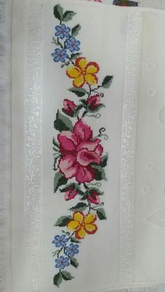 Kanaviçe - Canım Anne, You can cause really particular patterns for fabrics with cross stitch. Cross stitch models will very nearly surprise you. Cross stitch novices could make the models they want without difficulty. Cross Stitch Letters, Cross Stitch Borders, Cross Stitch Samplers, Modern Cross Stitch, Cross Stitch Flowers, Cross Stitch Designs, Cross Stitching, Cross Stitch Embroidery, Stitch Patterns