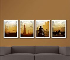 The Lord Of The Rings Trilogy Poster Set And The Hobbit | Nyrdom |  Pinterest | More Lord Ideas