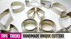 Tips&Tricks How to make unique cutters for polymer clay! Detailed Video ...
