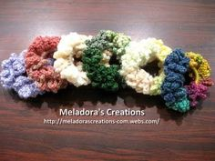Meladoras Creations  |  Chain Scrunchie – Free Crochet Pattern