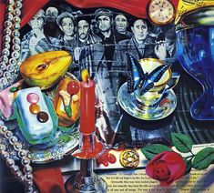 Artisoo World War II (Vanitas) - Oil painting reproduction x - Audrey Flack Vanitas, Still Life Artists, Art Database, Oil Painting Reproductions, High Art, Photorealism, Art Studies, World War Two, Pop Art