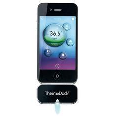 Thermodock, mide la temperatura de los #niños con el #Iphone