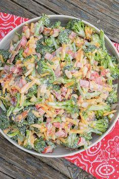 Keto Spicy Broccoli Salad