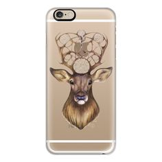 iPhone 6 Plus/6/5/5s/5c Case - Deer ($40) ❤ liked on Polyvore featuring accessories, tech accessories, iphone case, iphone cover case y apple iphone cases