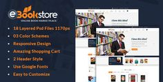 Book Store WordPress Theme - BookStore WP