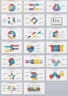 20+ Infographic Design PowerPoint templates #InfographicsAnimation