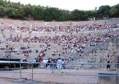 Athens & Epidaurus Festival. Athens & Epidaurus Festival. Ancient Theater Sanctuary of Asklepios @ Epidaurus