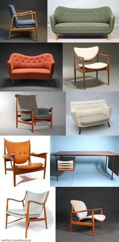 Designs by Finn Juhl