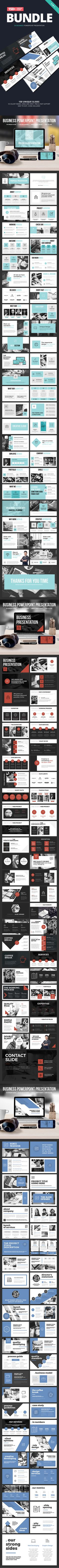 Business Powerpoint Template Bundle