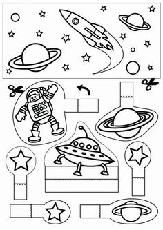 space - Coloring pages and crafts Astronomy Tattoo, Astronomy Facts, Astronomy Pictures, Space And Astronomy, Astronomy Quotes, Astronomy Stars, Space Preschool, Space Activities, Science Activities