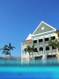 Pelican Bay Resort on Grand Bahama Island...first trip away unsupervised....so much fun w/Marian!