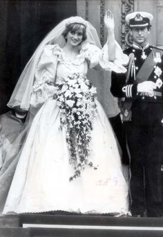 Princess Diana & Prince Charles wedding. I remember getting up really early so I could watch. She was so beautiful.