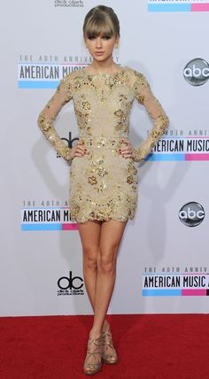 40th Anniversary American Music Award brought together some of the USA's biggest music stars.