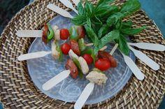 Jambalaya paddle appetizers