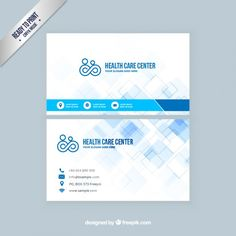 Medical business cards medical health business card templates so i have selected 15 free business card templates for you friedricerecipe Choice Image