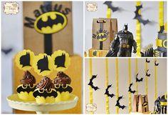 A sua criança vai adorar em seu próximo aniversário ter a festa infantil do Batman. Capriche nos detalhes e deixe a sua festa com visual muito mais interes