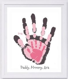 Your Families Prints Hand And Footprint Art Choose Colors And Text Grandma And Grandpa Gift Layered Handprint Wall Art 3 Prints Pap Your Families Prints Hand And Footprint Art By Myforeverprints Family Crafts, Baby Crafts, Toddler Crafts, Family Art Projects, Toddler Art, Kid Crafts, Grandpa Birthday Gifts, Grandpa Gifts, Mothers Day Crafts For Kids