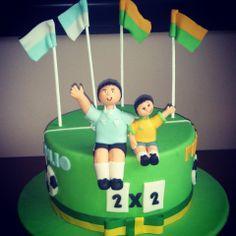 World Cup Cake Brazil x Uruguai