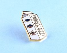 Pins Jewelry & Watches Enamelled Metallic Pins & Brooches