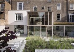 one day - sigh - East London House extension by David Mikhail Architects