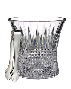 WATERFORD CRYSTAL Lismore Ice Bucket $360 - F - COMPARE ELSEWHERE $400+) InterexHome.ComREE SHIPPING OR PICK UP